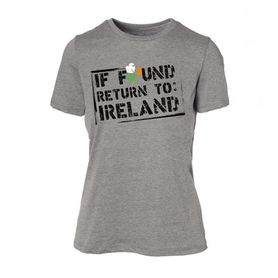 If Found Return Womens T-Shirt