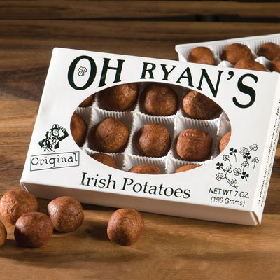 Oh Ryan's Candy Irish Potatoes