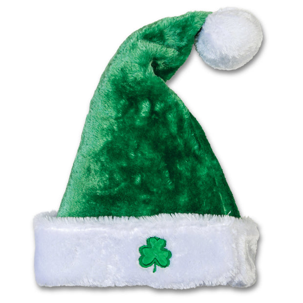 Irish Santa Hat