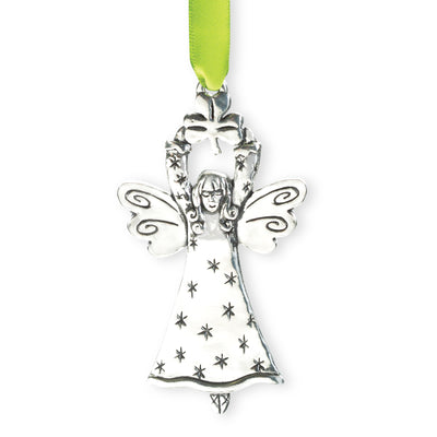 Star and Angel Ornament