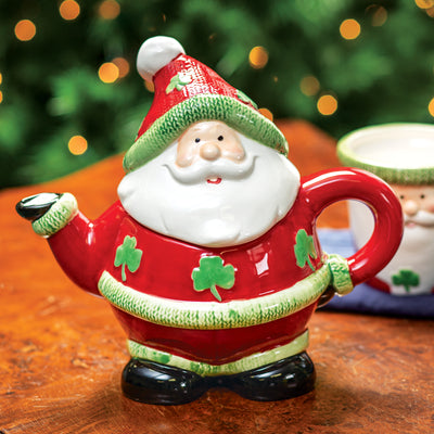 Irish Santa Teapot