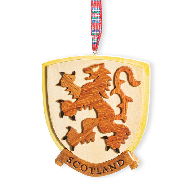 Lion Rampant Ornament