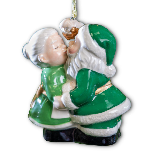 Merry Clauses Ornament