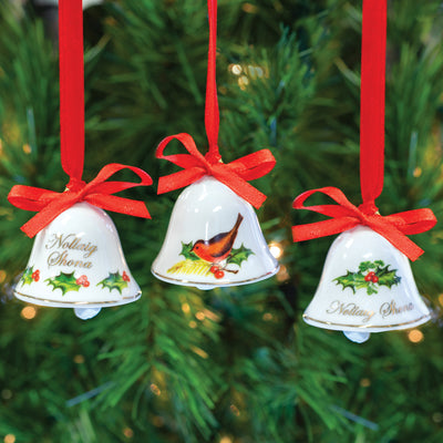 Bells of Christmas Ornament Set