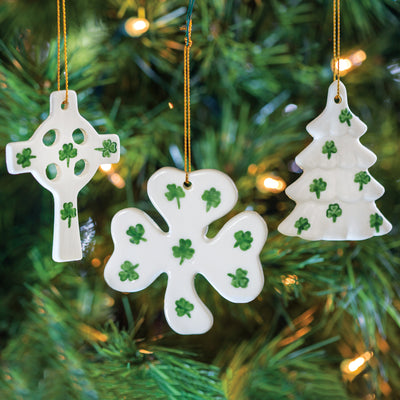Irish Symbols Ornament Set