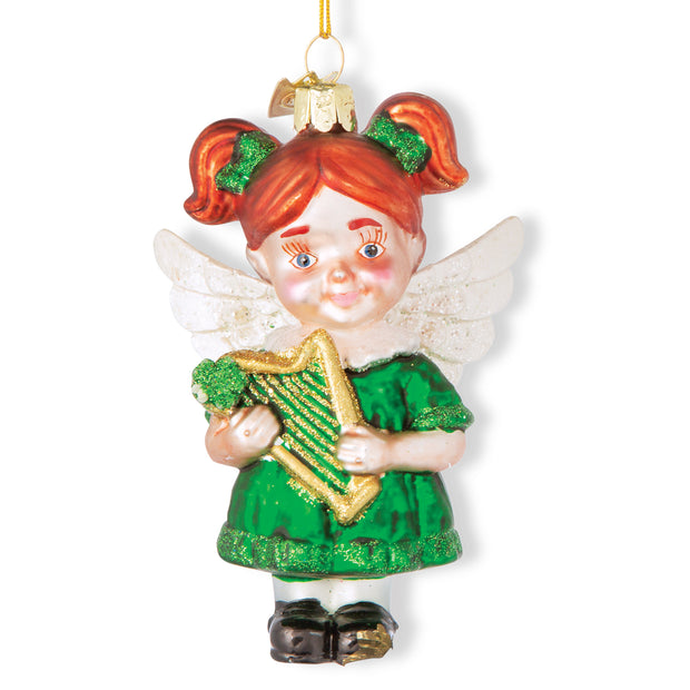 Sweet Irish Angel Ornament