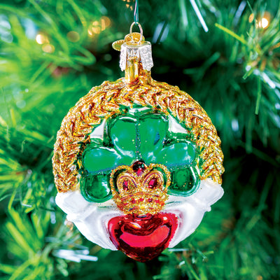 Old World Christmas Claddagh Ornament