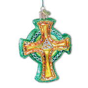 Old World Christmas Classic Trinity Cross Ornament