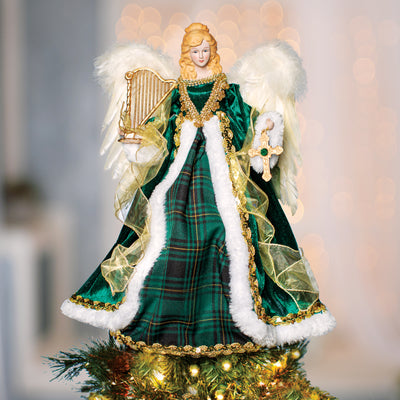 Irish Angel Tree Topper