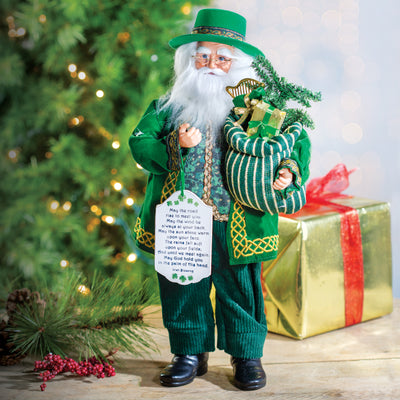 Irish Blessing Claus