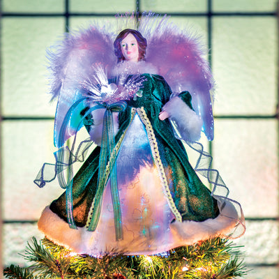 Light Up Irish Angel Tree Topper