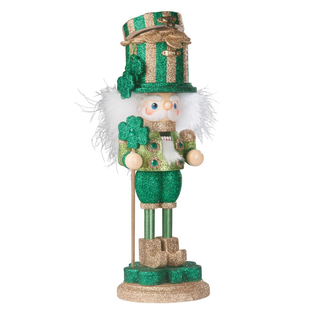 Irish Pot Of Gold Nutcracker