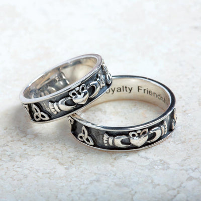 Claddagh and Trinity Unisex Band