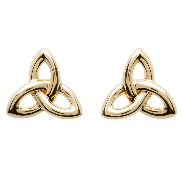 10K Gold Trinity Earrings
