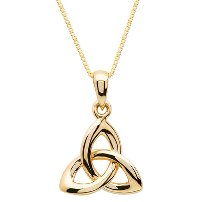 10K Gold Trinity Knot Necklace