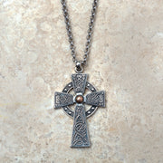 Celtic Warrior Cross Necklace