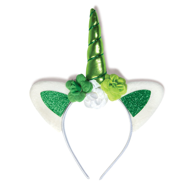 Lucky Lass Shamricorn Headband