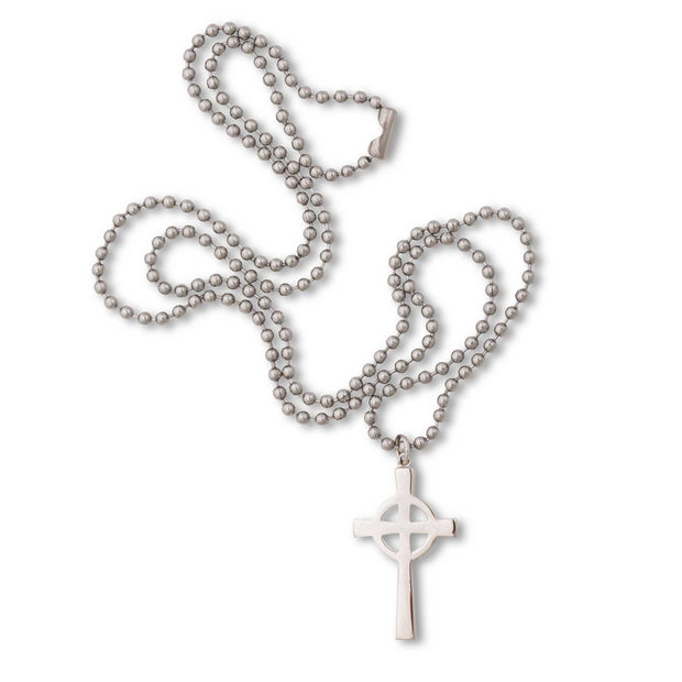 Celtic Military Cross Necklace