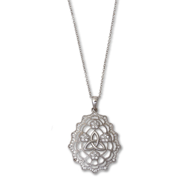 Trinity Irish Lace Necklace