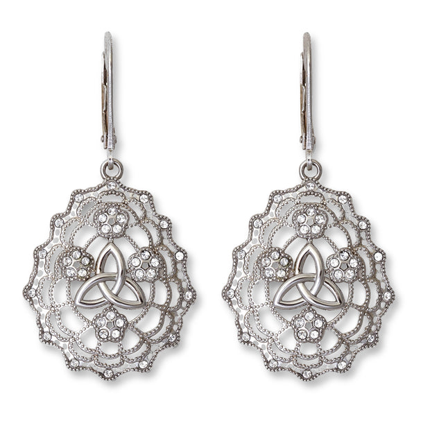 Trinity Irish Lace Earrings