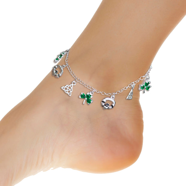 Irish Charm Ankle Bracelet