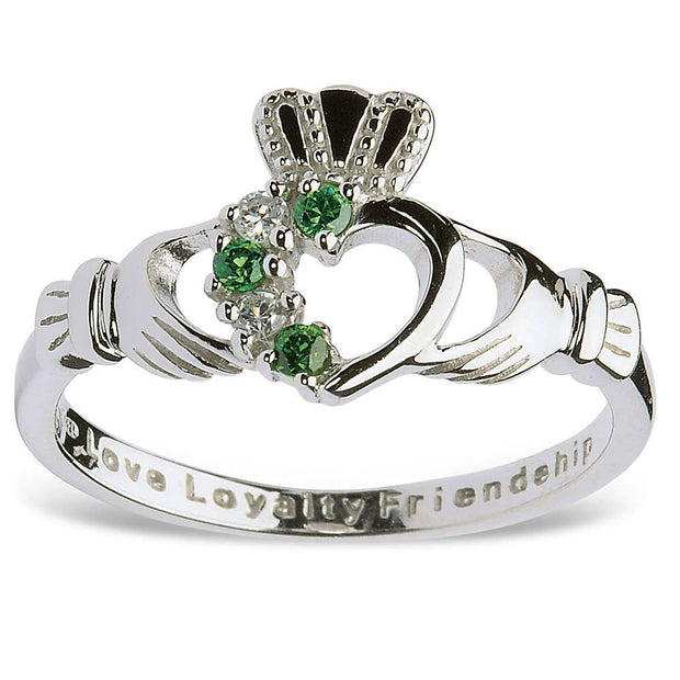 Claddagh Heart Ring