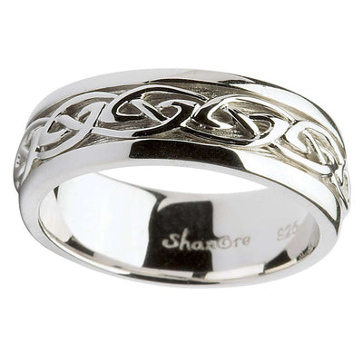 Men's Ring of Celtic Charm