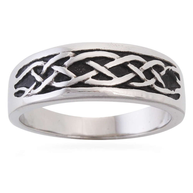 Celtic Knot Stainless Band