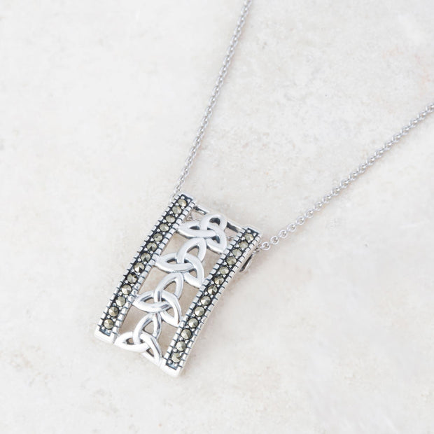 Trinity Bar Necklace
