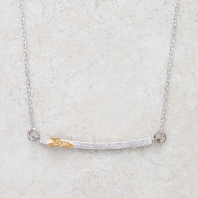 Horizontal Trinity Necklace