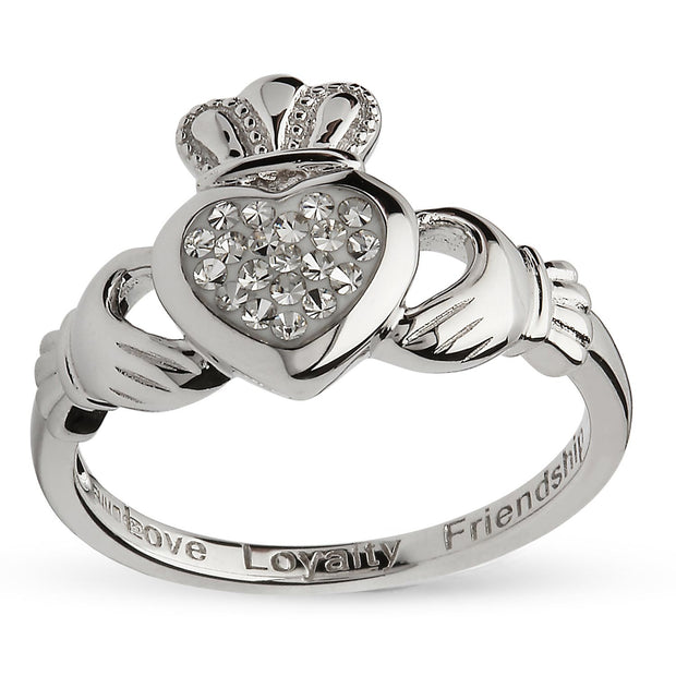 Claddagh Swarovski Ring