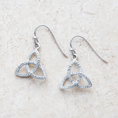 Swarovski Trinity Earrings