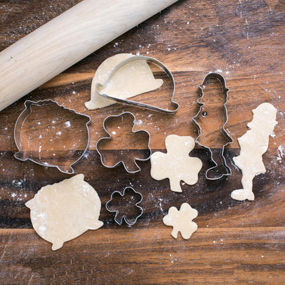 St. Patrick's Cookie Cutters Set