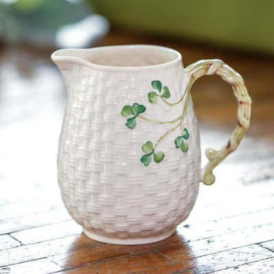 Belleek Shamrock Milk Jug