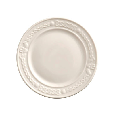 Belleek Claddagh Accent Plate