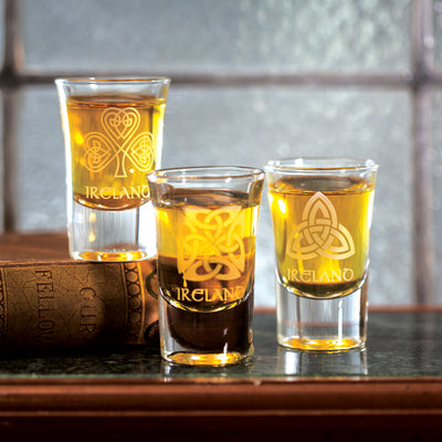Celtic Knot Shot Glasses