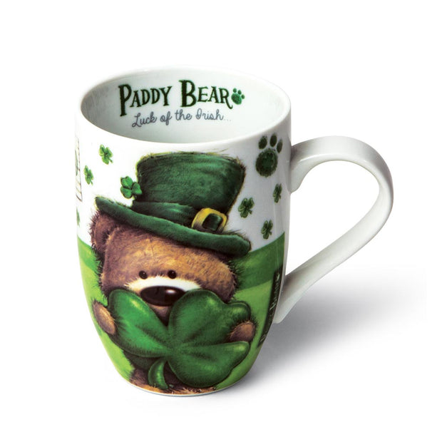 Paddy Bear Shamrock Mug