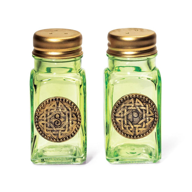 Celtic Salt and Pepper Shakers