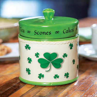 Shamrock Sweets Jar