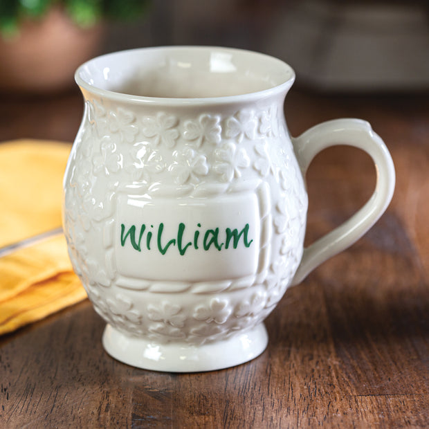 Belleek Personalized Mug