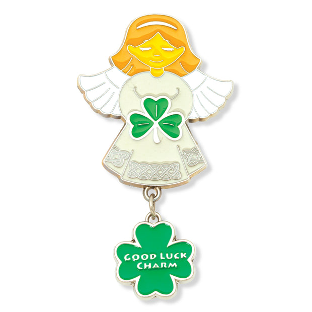 Irish Angel Charm Magnet