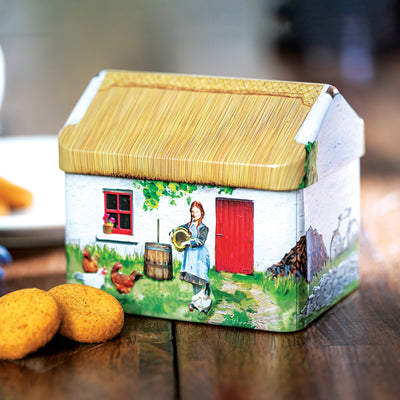 Ginger Cookies in Tin Cottage