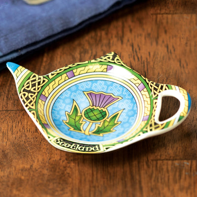 Thistle Tea Bag Holder