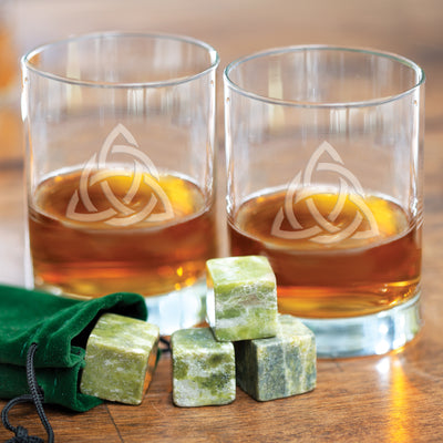 Celtic Trinity Old Fashioned Glasses