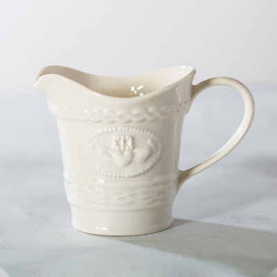 Belleek Claddagh Creamer Jug