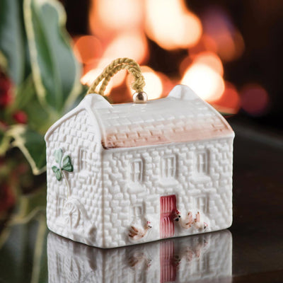 Belleek Kerry Farmhouse Cottage Ornament