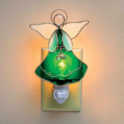 Shamrock Angel Nightlight