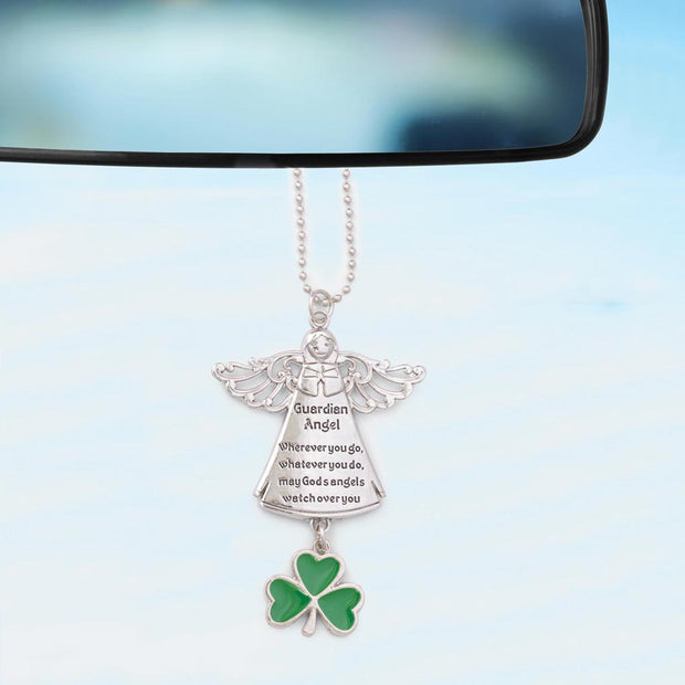 Irish Angel Car Charm
