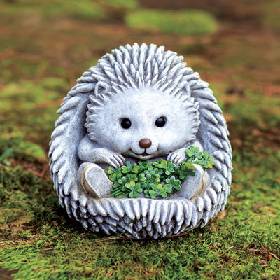 Hedgehog with Shamrocks