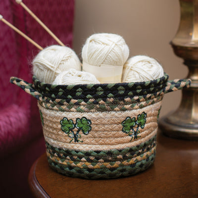Small Shamrock Utility Basket
